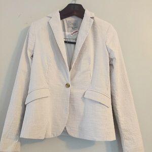 Dalia striped blazer jacket. Size Small